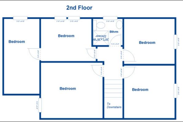 32 Maple Street Apartments, 4 Bedroom House (Photo 2)
