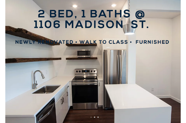 1106 Madison St, 2 Bedroom 1 Bath (Photo 1)