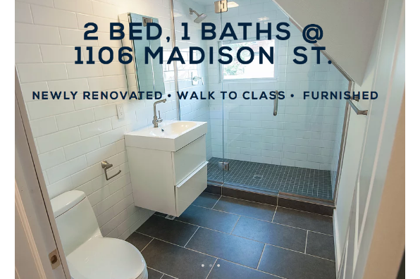 1106 Madison St, 2 Bedroom 1 Bath (Photo 4)