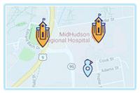 1073 Grant Street, 1 Bedroom Map